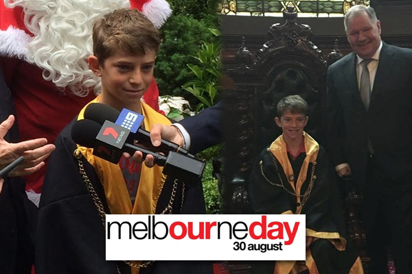 Article image for Melbourne's Junior Lord Mayor competition is open now!
