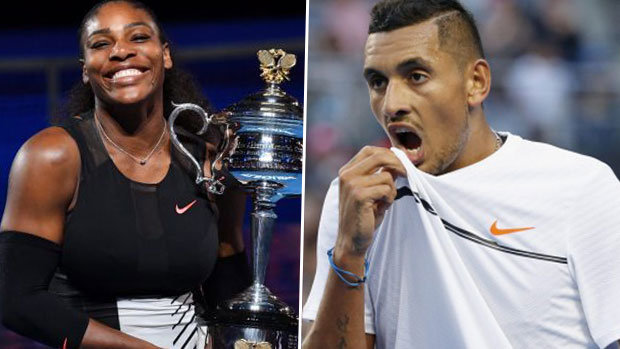 Article image for Serena would beat Kyrgios, says Tony Jones