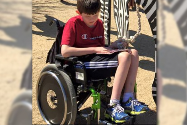 Article image for Young boy's wheelchair stolen from Reservoir home