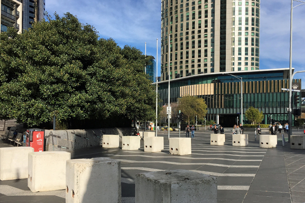 Article image for Photos: Melbourne, the bollard city