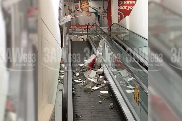 Article image for Car crash injures shopper at Brighton Coles