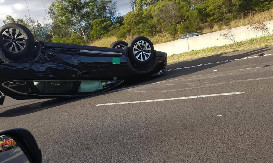 Article image for Hume Highway closed southbound due to collision