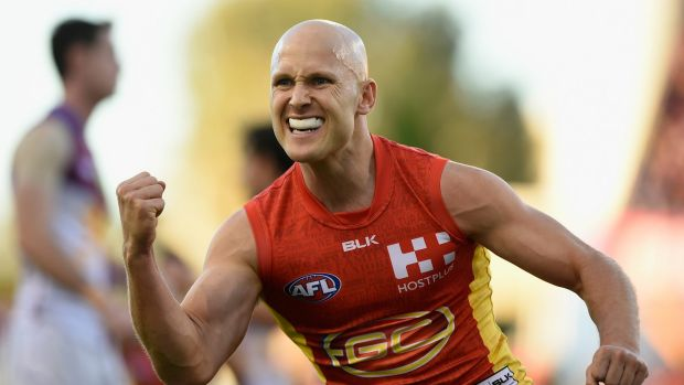 Article image for Ablett masterclass sends Gold Coast soaring over Hawthorn
