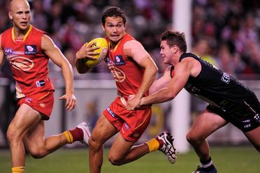 Article image for Gold Coast suspends Jarrod Harbrow for a second match