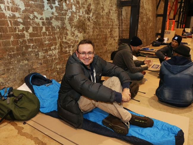 Tourism Australia CEO raises money for the homeless