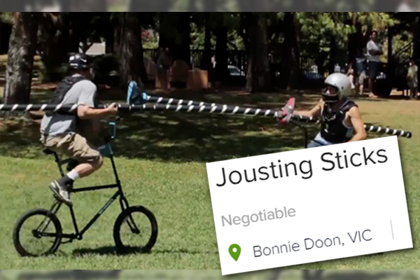 Article image for RUMOUR FILE: Jousting sticks up for grabs in Bonnie Doon
