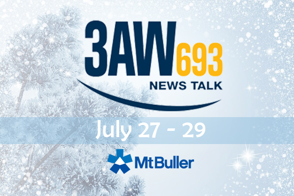 Article image for 3AW live from Mt. Buller!
