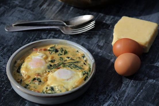 Article image for Emma Dean's recipe for Easy Baked Eggs