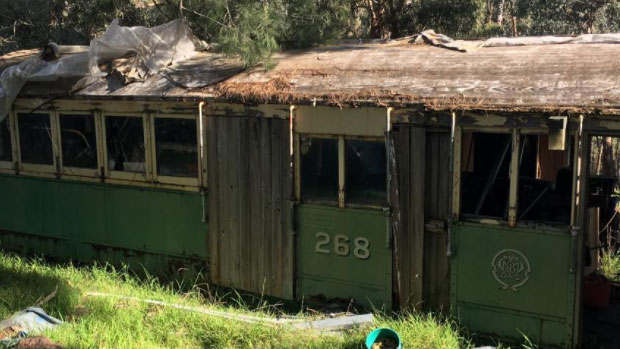 Article image for This vintage tram is up for grabs!