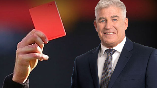 Article image for Gerard Healy says the time has come for a red card in the AFL