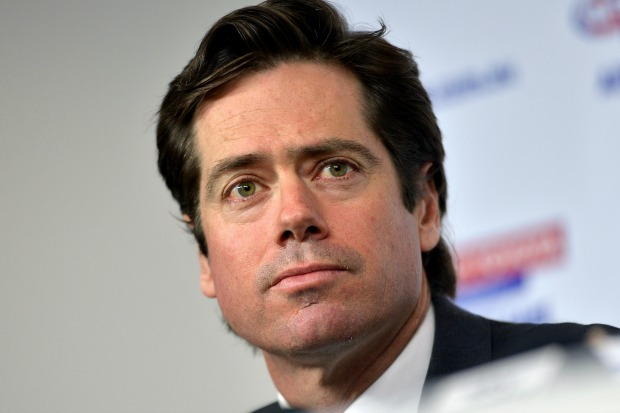 Article image for Gillon McLachlan grilled over latest AFL scandal