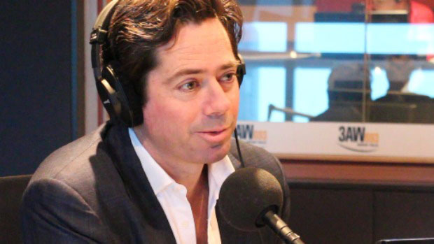 Article image for AFL boss fires back at Caroline Wilson on 3AW