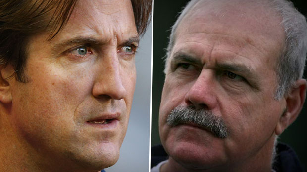 Article image for Lethal scoffs at 'cowardly' claim from Luke Beveridge