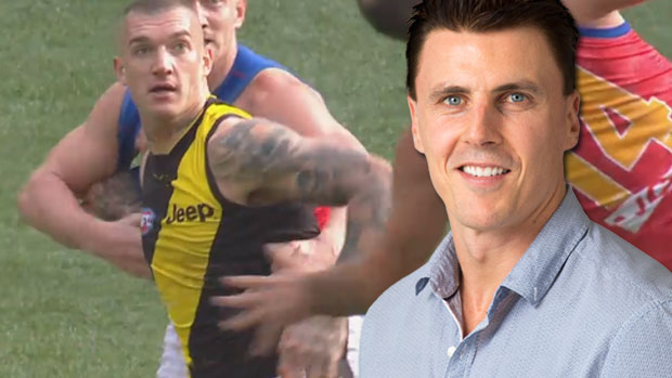 Article image for Matthew Lloyd starting to get sick of off-the-ball niggle