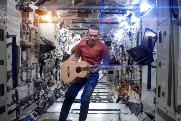 Article image for Chris Hadfield, the musical astronaut, discuss God and jocks with Ross and John