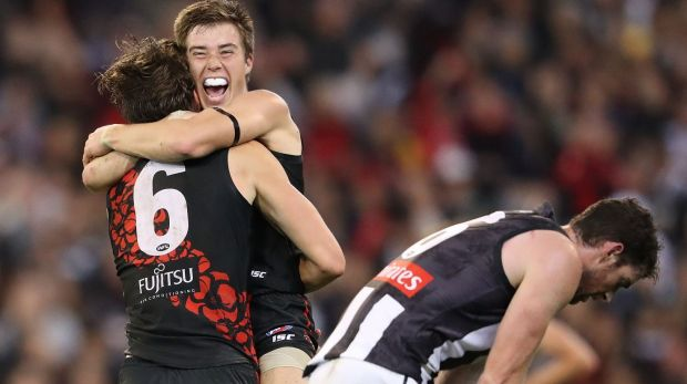 Article image for Bombers pile the misery on their old enemy Collingwood with 37-point win