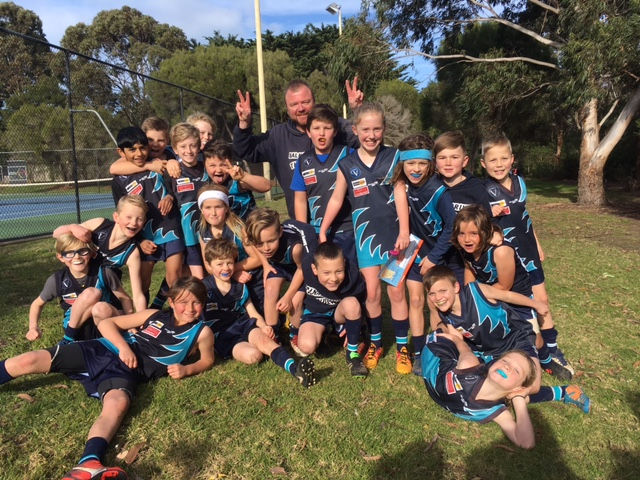 Article image for They did it! Balnarring under-10s lift for massive upset win