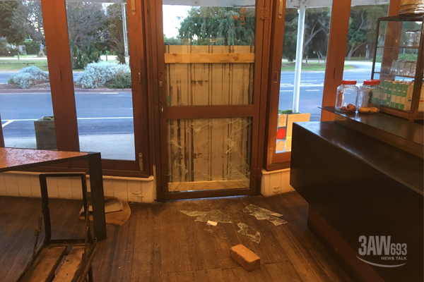 Article image for Cafe owner left frustrated after being broken into twice in 12 months