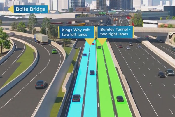 Article image for West Gate Fwy re-jig: The changes start today