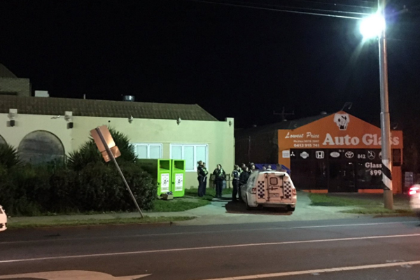 Article image for Shooting, fire make for dramatic morning in Coburg