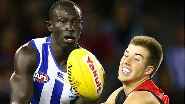 Article image for Essendon shakes off brave North Melbourne for 27-point win