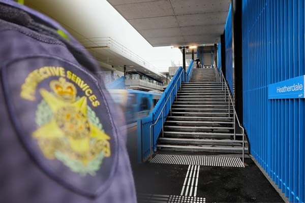 Article image for Toddler rescued by PSO after fall at Heatherdale train station