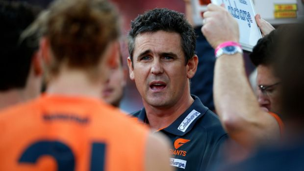 Article image for Greater Western Sydney re-signs coach Leon Cameron until 2020