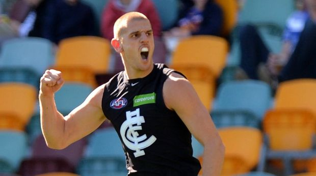Article image for Carlton re-signs rejuvenated defender Liam Jones for two more years
