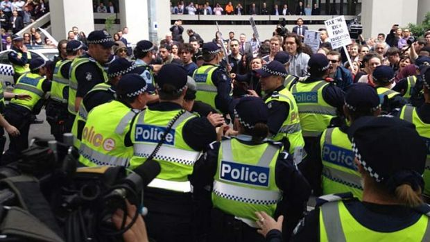 Article image for Concerns over CBD protests that have 'disaster written all over them'