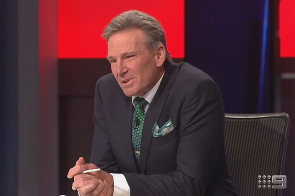 Article image for Why Sam Newman was a 'complete sad sack' on the Footy Show last night