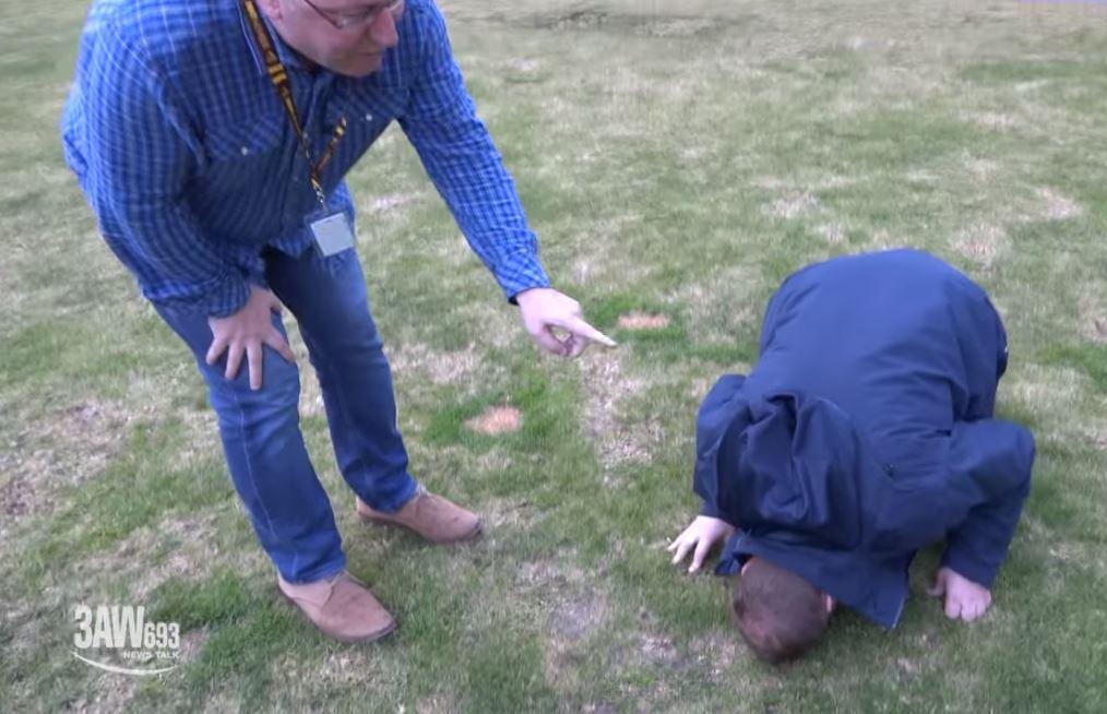 Article image for DR GOOGLE: Ross teaches Scorcher his trick to treat vertigo
