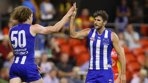Article image for North puts paid to tank talk with gutsy win over Melbourne