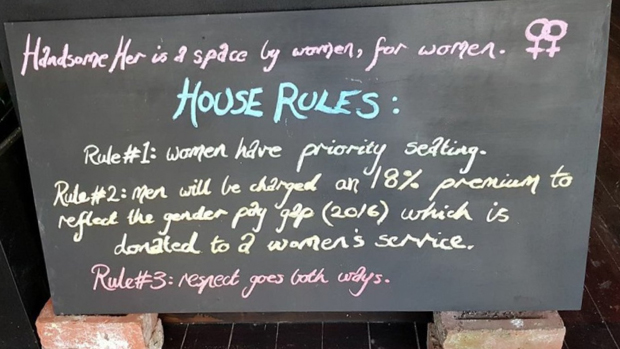 Article image for Brunswick cafe creates controversy with 'house rules' favouring women