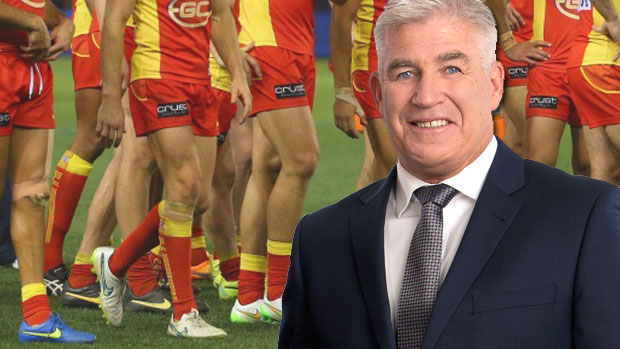 Article image for Gerard Healy says the Gold Coast Suns are 'fast running out of chances'