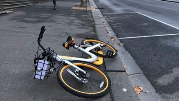 Article image for New bike-sharing company caught off-guard by thieving Melburnians