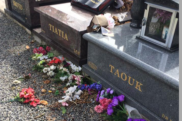 Article image for Heartless vandals trash Fawkner cemetery