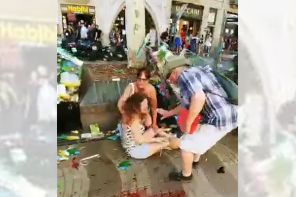 Article image for 'Bit too close to home': Bourke St hero caught in Las Ramblas horror