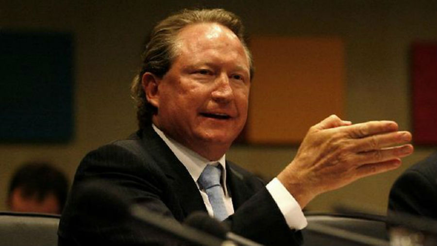 Article image for Andrew Forrest claims Chinese official spoke with 'full authority' of Health Minister