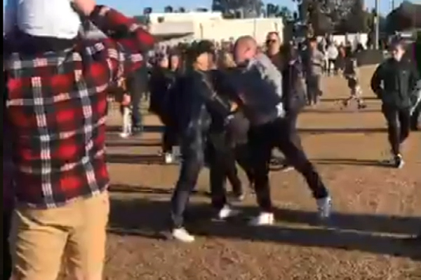 Article image for 'Carnage': Police investigating junior footy brawl at Hoppers Crossing