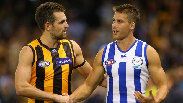 Article image for Hawthorn keeps its mathematical chance alive with 27-point win
