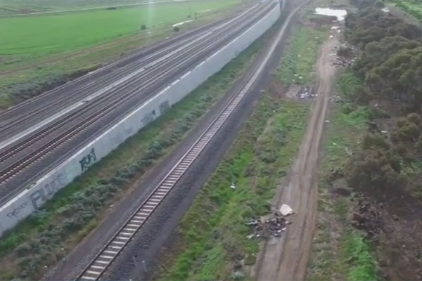 Article image for New drone technology shows extent of illegal dumping in Melbourne