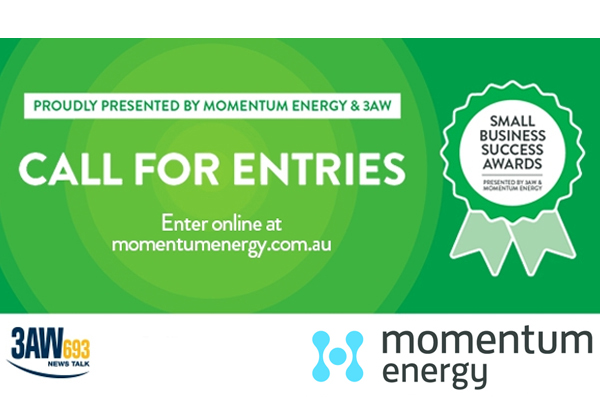 3AW Momentum Energy Small Business Success Awards