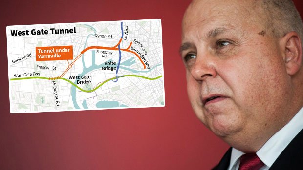Article image for Transport planner 'moved on' after offering criticism about Western Distributor