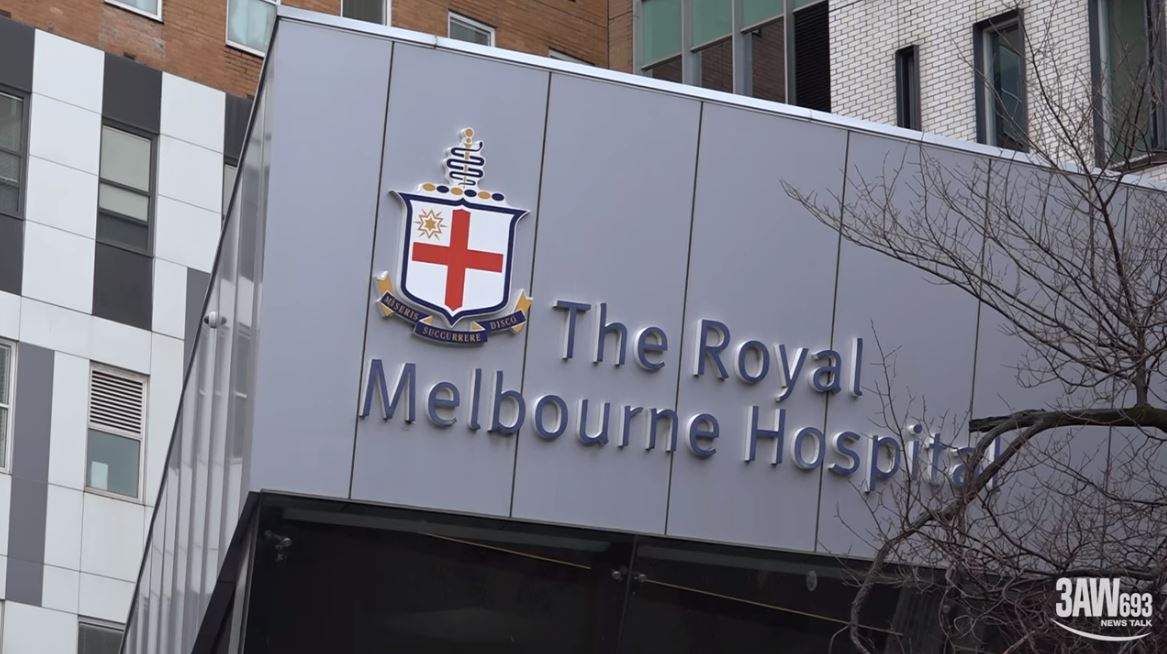 Article image for Home Lottery: Neil Mitchell and Robert Doyle tour the Royal Melbourne Hospital