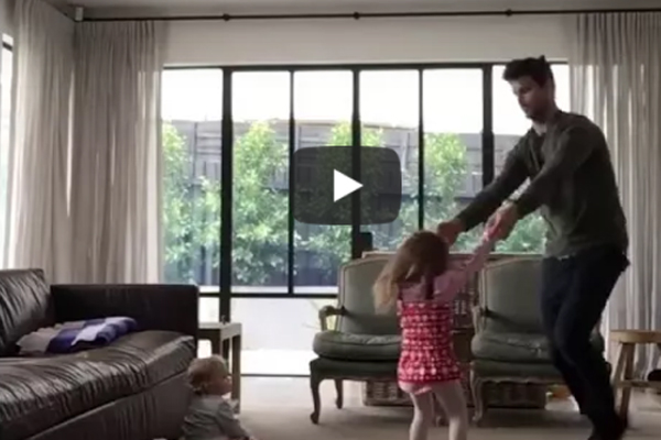 Article image for Funny: Trent Cotchin's attempt at an adorable video went a little awry!