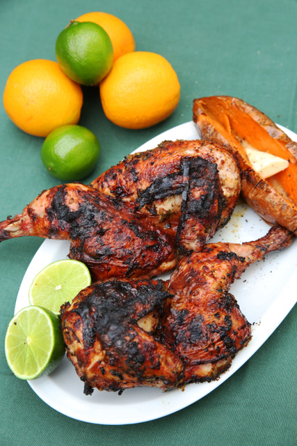 Article image for Bob Hart's Citrus-Spiced Char-Grilled Chicken