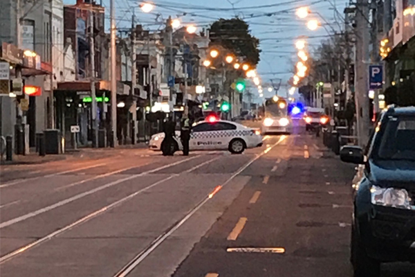 Article image for Glenferrie Road suspicious package deemed safe