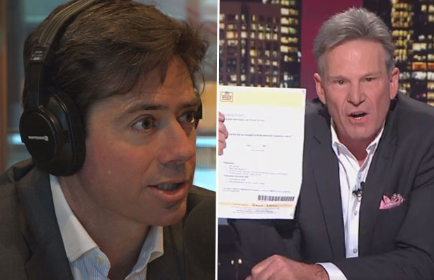 Article image for Gillon McLachlan responds to Footy Show tirade from Sam Newman