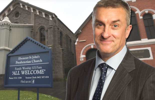 Article image for Tom Elliott backs church under attack for refusing to marry couple over same-sex marriage support