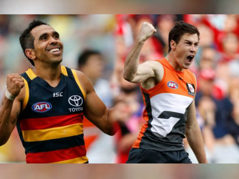 Article image for Adelaide move into a Prelim with six-goal win over GWS